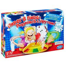 Дет.<b>игрушка HASBRO</b> C0193 Игра <b>Hasbro</b> Games <b>Пирог</b> в лицо (2 ...