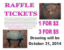 help fight breast cancer raffle flyer