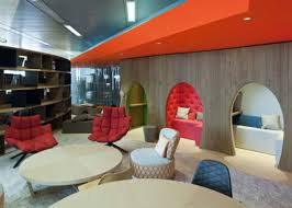 google london office google39s new london hq surprises with wool tweed and rocking chairs architizer belgrave house google london office