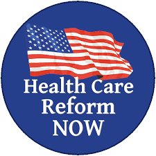 Health Care Reform button