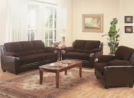 Two Loveseat Living Room Monika Collection Living Room Chocolate Love Seat Coaster 502812