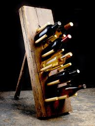 wine rack build your own rustic furniture