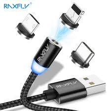 RAXFLY <b>Magnetic</b> Charge Cable For iPhone Nokia 7 8 6 X XS Plus ...