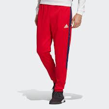 <b>adidas</b> Брюки TAN <b>Tape</b> Clubhouse - красный | <b>adidas</b> Россия