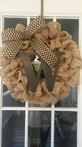 Decorating With Burlap Best 25 Year Round Wreath Ideas On Pinterest Letter Door