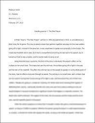 essay and analysis on the war prayer madison holle dr chalaire this preview has intentionally blurred sections sign up to view the full version