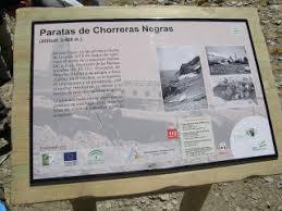 Afbeeldingsresultaat voor chorreras negras sierra nevada