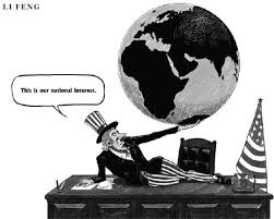 Image result for US hegemony CARTOON