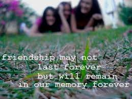 Funny Quotes About Friendship And Memories (2) - HD Free Pic ... via Relatably.com