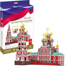 """<b>CubicFun</b> """"<b>Рождественская церковь</b>"""", 135 элементов — купить в ..."""