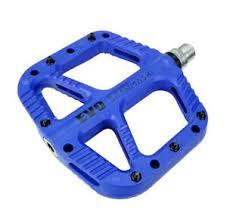 MTB XC Road <b>Bike</b> Pedal DU Bearing <b>Nylon fiber</b> Flat Pedals EVO <b>1</b> ...