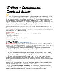 with a little planning a comparison essay can be informative and    comparison contrast essay example angela lansbury biography of rene descartes example of a comparison contrast essay