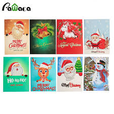Christmas Greeting <b>Cards</b> 5D <b>DIY Diamond</b> Painting Kit Christmas ...