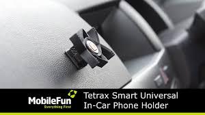 Tetrax Smart <b>Universal</b> In-<b>Car Phone</b> Holder - YouTube