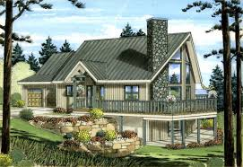 A Frame House Plan   House plans  Car Garage and Family Home    A Frame House Plan   House plans  Car Garage and Family Home Plans
