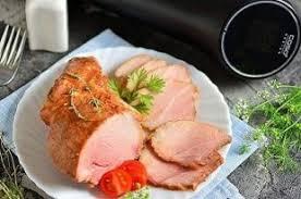 Рецепт: Свиная шея (<b>Су вид CASO SV</b> 200)