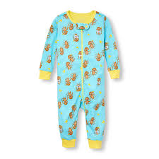 newborn baby boy pajamas the children s place ca off unisex baby and toddler long sleeve i heart my family banana monkey