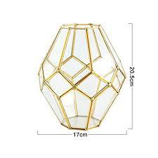QianQianStore Nordic <b>Creative Glass</b> Vase Light <b>Luxury</b> Wind