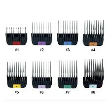 WAHL 1-8 Comb/<b>Stainless Steel Attachment</b>