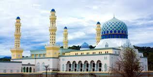 Image result for masjid bandaraya kota kinabalu