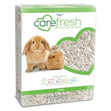 carefresh® Natural Paper <b>Small Pet</b> Bedding, Dust Free, <b>White</b>, 50L ...
