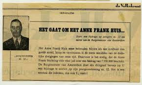From hiding place to museum  The history of the Anne Frank House