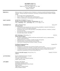 finance objective for resume  seangarrette cofinance
