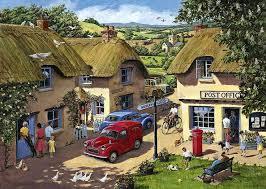Best of British - The Country Village | <b>Nostalgic</b> art, Puzzle art ...