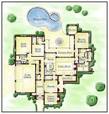 House Design Floor Plans   House Plan Websites Rambler Floor Plans    Floor Plans Leland Turnipseed