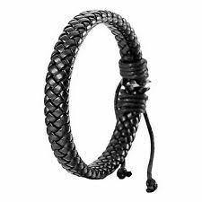 <b>Leather</b> Cuff Wrap Fashion Bracelets for sale | eBay