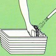 Risultati immagini per lavare vaso piante