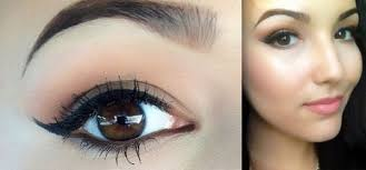 natural makeup for brown eyes wedding looks middot natural eye makeup for darker shade of eyeshadow
