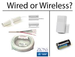 Should I get a <b>wired home security system</b> or a wireless <b>system</b>?