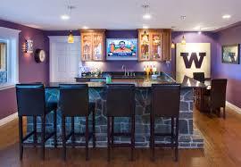 home sports bar contemporary basement basement sports bar ideas