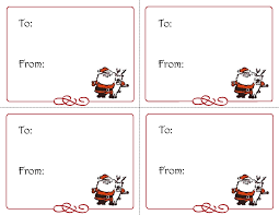 template suitable for all versions of microsoft excel xls file christmas gift tags templates