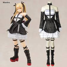 anime game dead or alive 5 marie rose cosplay costume custom made any size