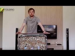 <b>Раскладная кровать</b> «Адель» на металлической сетке - YouTube