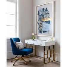 Beatrix <b>Swivel Office</b> Chair, Grey - Beautiful <b>Work</b> - <b>Office</b> - Room Ideas