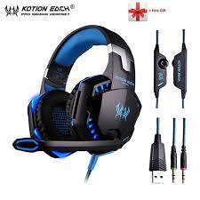 <b>KOTION EACH G2000</b> G9000 Gaming Headphones Gamer ...