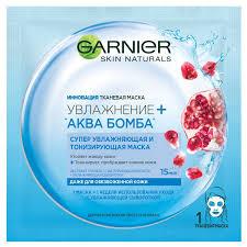 <b>Тканевая маска</b> Garnier «Увлажнение + Аква Бомба», супер ...