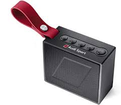 <b>Audi</b> 3291700700 Bluetooth Speaker <b>Black</b>/<b>Red</b>: Amazon.co.uk: Car ...