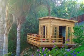 urban backyard home office build