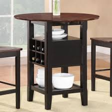 three piece dining set: tavern  piece counter height dining set in espresso  piece counter height dining sets homelegance atwood  piece drop leaf counter height m set  piece