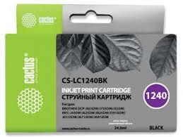 <b>Картридж</b> струйный Cactus CS-<b>LC1240BK</b> черный (24мл) для ...