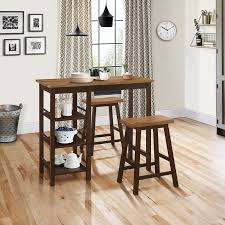 Brown <b>3 Piece Bar</b> Height Dining Room Set -Tampa | RC Willey ...