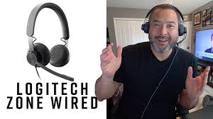 <b>Logitech Zone Wired</b> - Overview and Mic Test! - YouTube