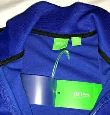 Activewear Tops NWT HUGO BOSS GREEN Men's SKAZU Track ...