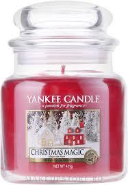 Yankee Candle <b>Christmas Magic</b> - <b>Ароматическая свеча</b> в банке ...