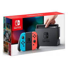 <b>Игровая приставка Nintendo Switch</b>, красный/синий — купить в ...