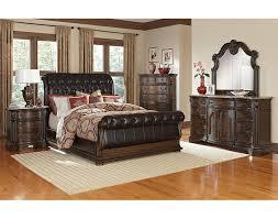 thomasville king queen the monticello sleigh bedroom collection pecan